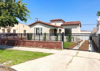 Pre Foreclosure in Los Angeles 90044 W 104TH ST - Property ID: 779897392