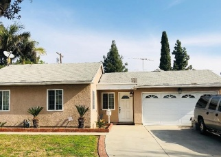 Pre Foreclosure in Pico Rivera 90660 FOXBURY WAY - Property ID: 793036617