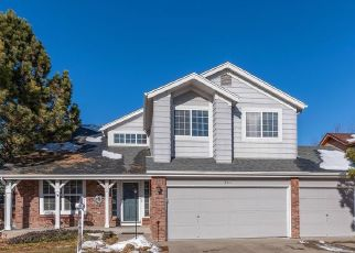 Pre Foreclosure in Littleton 80128 W CHATFIELD DR - Property ID: 939397445