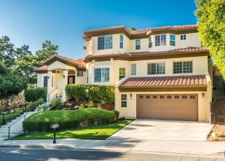 Pre Foreclosure in Westlake Village 91361 RIM CREST DR - Property ID: 958113839