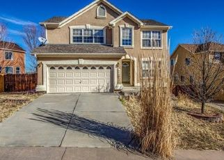 Pre Foreclosure in Fountain 80817 CAILIN WAY - Property ID: 962206251