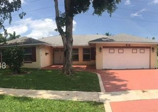 Pre Foreclosure in Fort Lauderdale 33324 E PLANTATION CIR - Property ID: 962760290