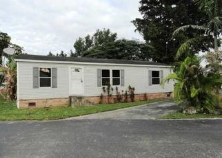 Pre Foreclosure in Homestead 33030 NE 12TH AVE LOT 19 - Property ID: 977660611