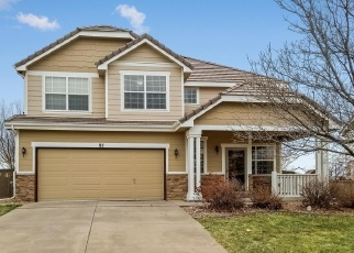 Pre Foreclosure in Castle Rock 80104 PEABODY ST - Property ID: 979894718