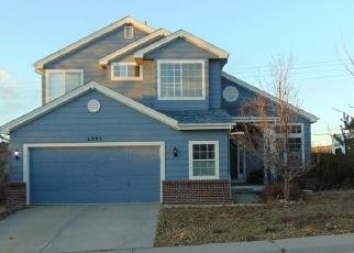 Pre Foreclosure in Castle Rock 80104 SANDHURST DR - Property ID: 979905668