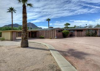 Pre Foreclosure in Paradise Valley 85253 N QUAIL RUN RD - Property ID: 985483705