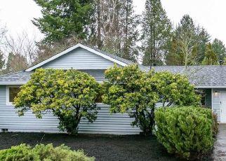 Pre Foreclosure in Beaverton 97006 NW LONEROCK LN - Property ID: 994542765