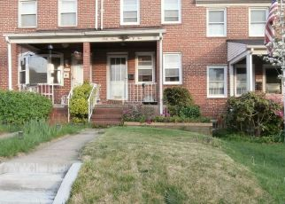 Sheriff Sale in Baltimore 21224 EASTBROOK AVE - Property ID: 70185847697