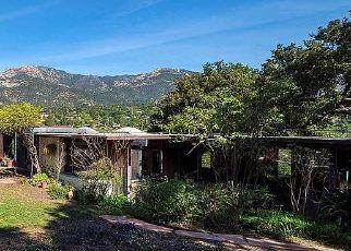 Sheriff Sale in Santa Barbara 93103 LAS TUNAS RD - Property ID: 70222905100